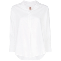 A Shirt Thing Camisa Lisa Mangas Longas - Branco