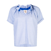 A Shirt Thing Blusa Listrada - Azul