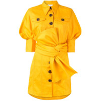 Acler Chemise Jeans Priestly - Amarelo