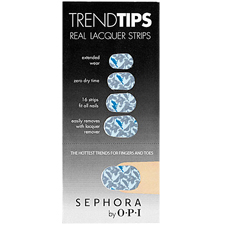 Adesivo Sephora by OPI Trend Tips Silver & Blue Ombre de OPI for Sephora