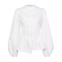 Aganovich Balloon Sleeves Shirt - Branco