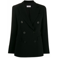 Alberto Biani Double Breasted Jacket - Preto