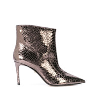 Alevì Metallic Ankle Boots - Metálico