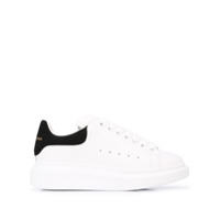 Alexander Mcqueen Oversized Low-Top Sneakers - Branco