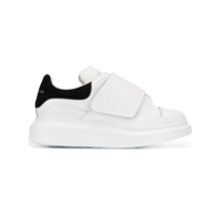 Alexander Mcqueen Touch Strap Sneakers - Branco