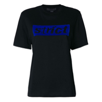 Alexander Wang Camiseta 'strict' - Preto