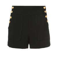 Alice+Olivia Short 'donald' - Preto