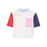 Allmost Vintage T-Shirt Cropped 'collors' - Multicolorido