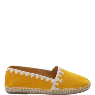 Alpargata Espadrille Neutral Yellow | Schutz