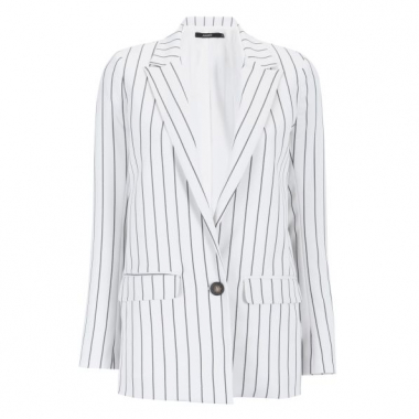 Amaro Feminino Blazer Fashion Summer, Multi
