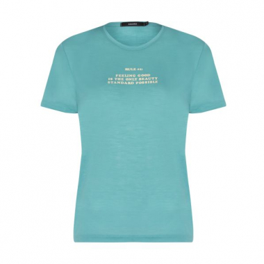 Amaro Feminino T-Shirt Beauty, Verde