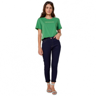 Amaro Feminino T-Shirt If Crop, Verde