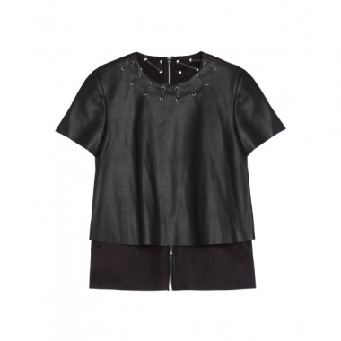 Amaro Feminino T-Shirt Leather Special, Preto