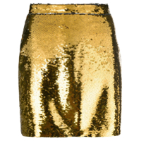 Amen Sequin Mini Skirt - Metálico