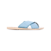 Ancient Greek Sandals Sandália Jeans - Azul