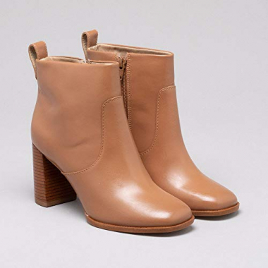 Ankle Boot Couro Cinamon 34