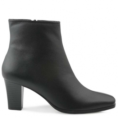 Ankle Boot Couro Mr Cat Comfort New Feminina-Feminino