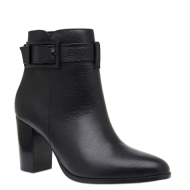 Ankle Boot Fivela Couro