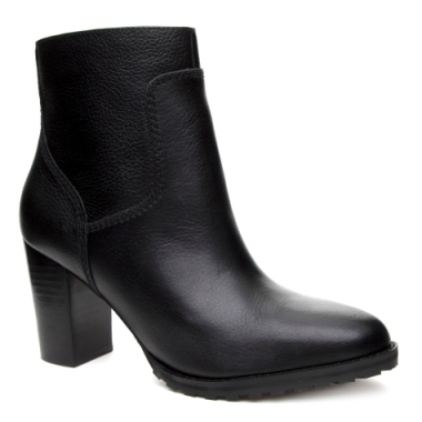 Ankle Boot Grunge Couro Floater