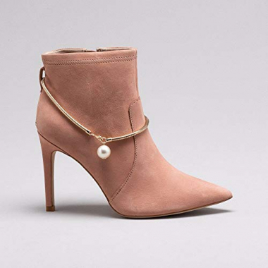 Ankle Boot Nobuck Nude 39