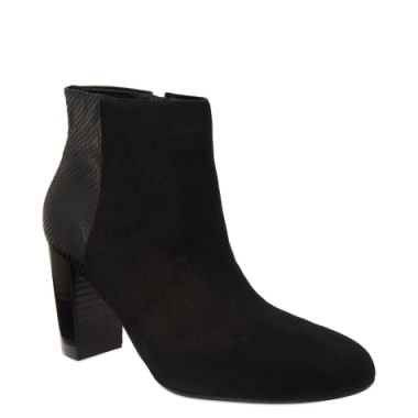 Ankle Boot Nobuck & Python