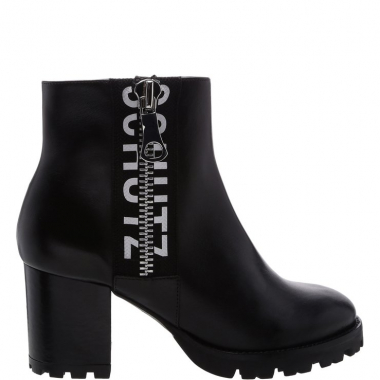 [Back In Store] Ankle Boot Tratorada Logo Black | Schutz
