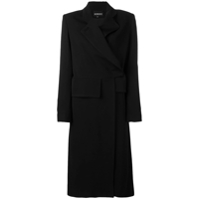 Ann Demeulemeester Casaco Loose Fit - Preto