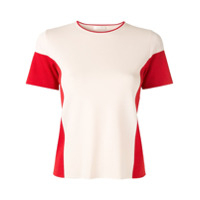 Anteprima Camiseta Color Block - Branco