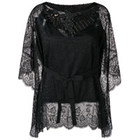 Antonio Marras Embellished Lace Blouse - Preto
