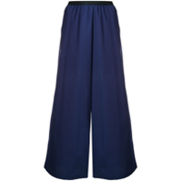 Antonio Marras Wide-Leg Flared Trousers - Azul