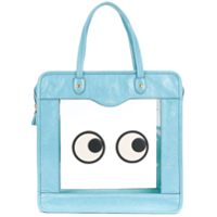 Anya Hindmarch Bolsa Tote 'rainy Day Eyes' - Azul