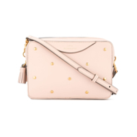 Anya Hindmarch Double Zip Wallet Crossbody Bag - Rosa