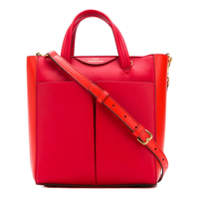 Anya Hindmarch Mini Nevis Cross-Body Bag - Vermelho