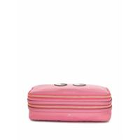 Anya Hindmarch Necessaire Com Patch Eye - Rosa