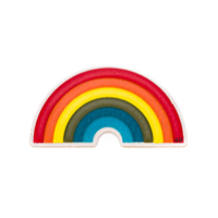 Anya Hindmarch 'rainbow' Sticker - Estampado