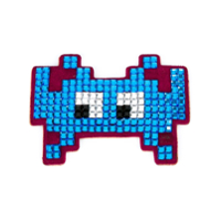 Anya Hindmarch Sticker 'invaders' - Azul