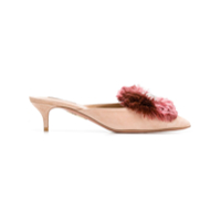 Aquazzura Mule Powder Puff - Neutro