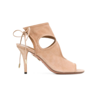 Aquazzura Sandália 'sexy Thing' - Neutro