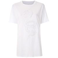 Armani Exchange Camiseta Com Bordado - Branco