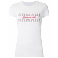Armani Exchange T-Shirt Com Estampa - Branco