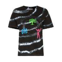 Ashley Williams Camiseta Com Estampa Gráfica Tie-Dye De Algodão - Preto