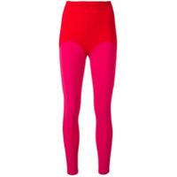 Atu Body Couture Legging Color Block - Vermelho
