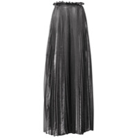 Atu Body Couture Pleated Maxi Skirt - Prateado