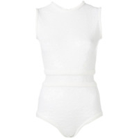 Atu Body Couture Regata Com Paetês - Branco