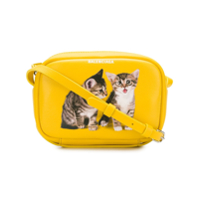 Balenciaga Bolsa Transversal 'puppy And Kitten Everyday S' De Couro - Amarelo