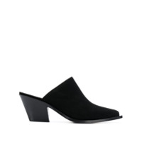 Barbara Bui Pointed Mule Pumps - Preto