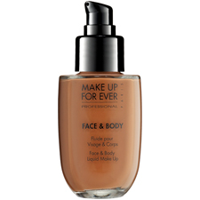 Base Face and Body Liquid Make Up 03 - Natural Beige de MAKE UP FOR EVER