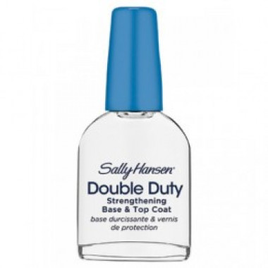 Base Fortalecedora E Top Coat Double Duty Sally Hansen 13,3 Ml