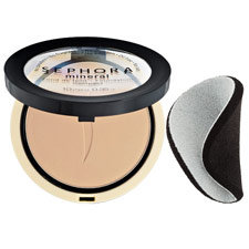 Base Mineral Foundation Compact D25 - Warm Natural de Sephora Collection