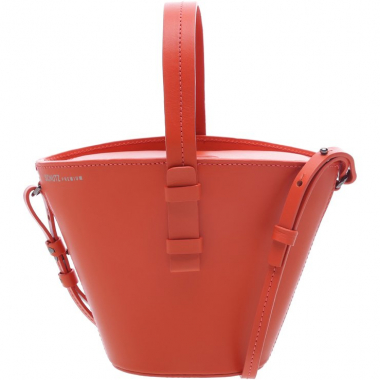 Basket Bag Mickey Leather Bright Red | Schutz